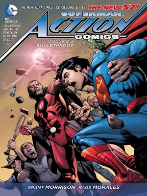 cover image of Action Comics (2011), Volume 2