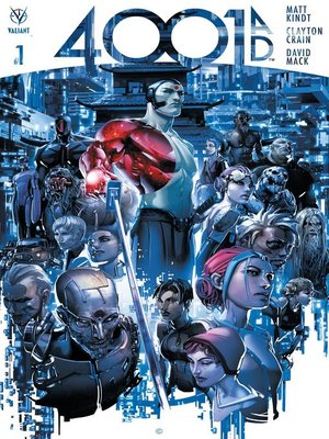 cover image of 4001 A.D. (2016), Issue 1