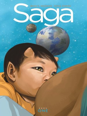 cover image of Saga Deluxe Edition, Book 1