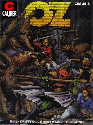 cover image of OZ, Issue 8