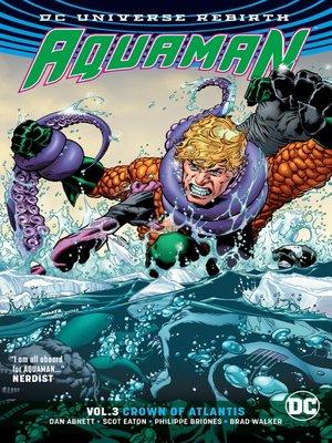 cover image of Aquaman (2016), Volume 3