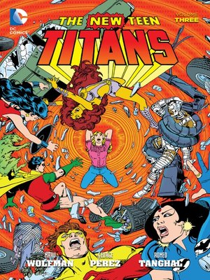 cover image of New Teen Titans, Volume 3