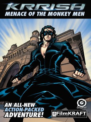 cover image of Krrish : The Menace of The Monkey Men