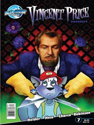 cover image of Vincent Price Presents, Issue 7