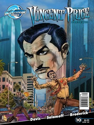 cover image of Vincent Price Presents, Issue 10