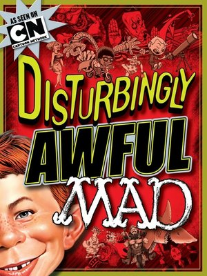 cover image of Disturbingly Awful MAD