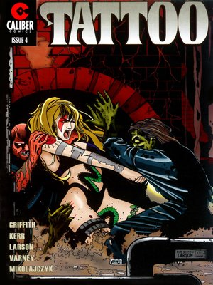 cover image of Deadworld: Tattoo, Issue 4