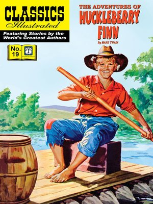 cover image of Huckleberry Finn