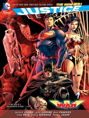 cover image of Justice League: Trinity War