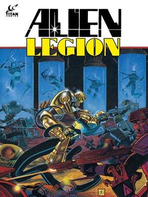 cover image of Alien Legion (1984), Issue 21