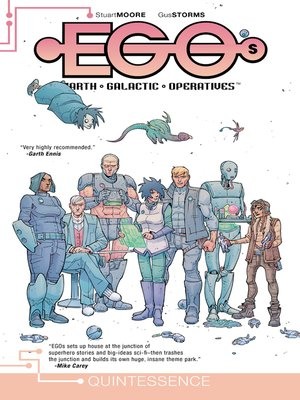 cover image of EGOs, Volume 1