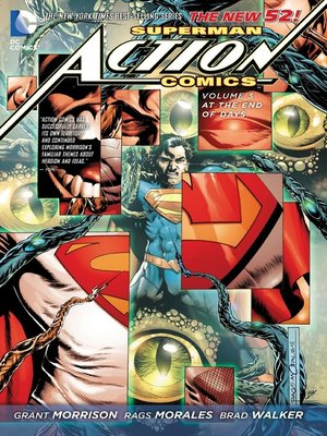 cover image of Action Comics (2011), Volume 3