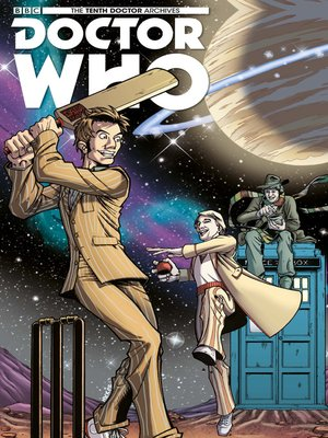 cover image of Doctor Who: The Tenth Doctor Archives (2015), Issue 9