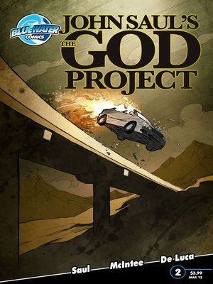 cover image of John Saul's The God Project, Issue 2