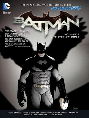 cover image of Batman (2011), Volume 2