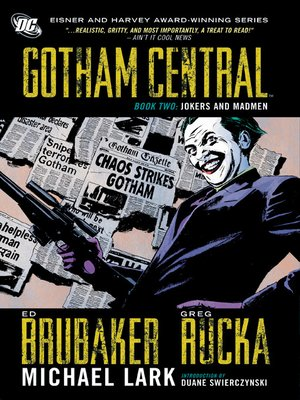cover image of Gotham Central, Book 2