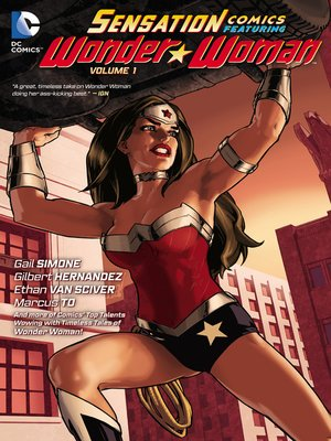 cover image of Sensation Comics Featuring Wonder Woman, Volume 1