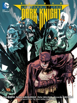 cover image of Legends of the Dark Knight (2012), Volume 3