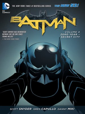 cover image of Batman (2011), Volume 4