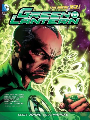 cover image of Green Lantern (2011), Volume 1