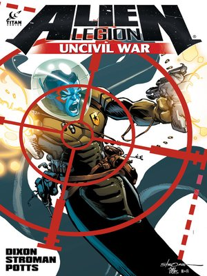 cover image of Alien Legion: Uncivil War, Issue 3