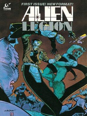 cover image of Alien Legion, Issue 22