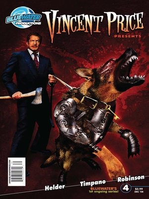 cover image of Vincent Price Presents, Issue 4