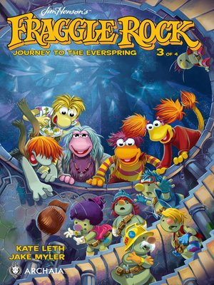 cover image of Fraggle Rock: Journey to the Everspring (2014), Issue 3