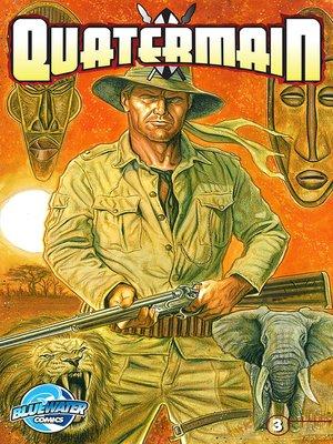 cover image of Quatermain, Issue 3