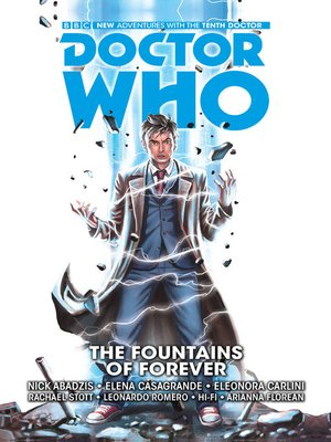 cover image of Doctor Who: The Tenth Doctor, Year One (2014), Volume 3