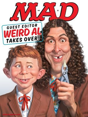 cover image of MAD Magazine #533