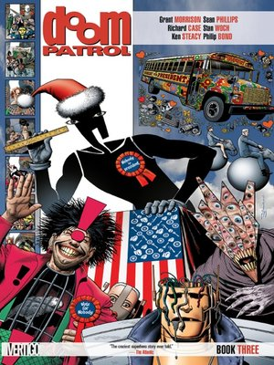 cover image of Doom Patrol, Book 3