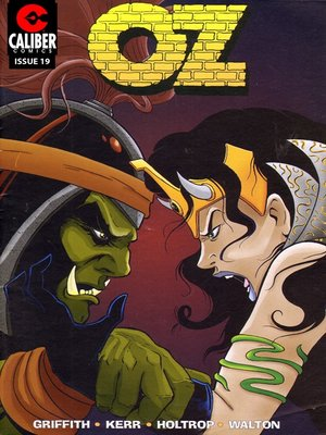 cover image of OZ, Issue 19