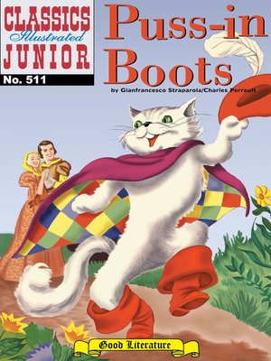 cover image of Puss-in-Boots