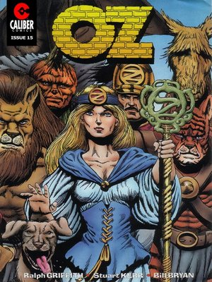 cover image of OZ, Issue 15