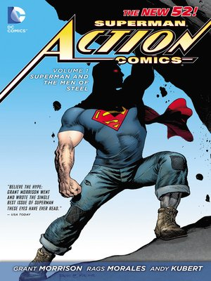 cover image of Action Comics (2011), Volume 1