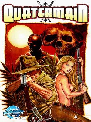 cover image of Quatermain, Issue 4