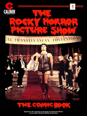 cover image of Rocky Horror Picture Show: The Comic Book, Issue 1