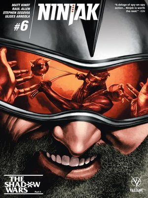cover image of Ninjak (2015), Issue 6