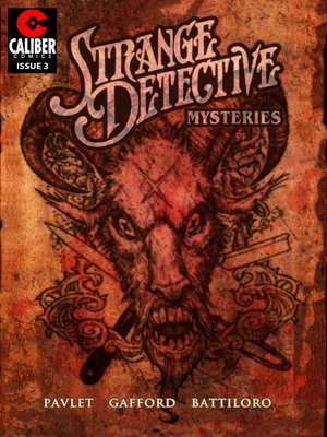 cover image of Strange Detective Mysteries, Issue 3