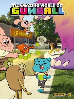 cover image of The Amazing World of Gumball, Issue 6