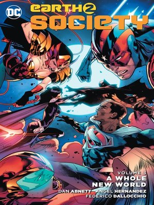 cover image of Earth 2: Society (2015), Volume 3
