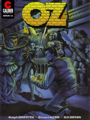 cover image of OZ, Issue 11