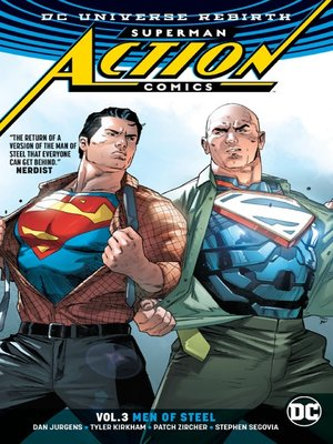 cover image of Action Comics (2016), Volume 3