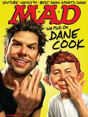 cover image of MAD Magazine #475