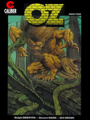 cover image of OZ, Issue 4