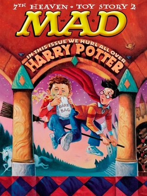 cover image of MAD Magazine #391