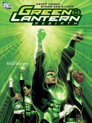 cover image of Green Lantern: Rebirth