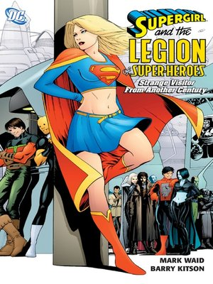 cover image of Supergirl & Legion Super-Heroes: Strange Visitor from Another Century