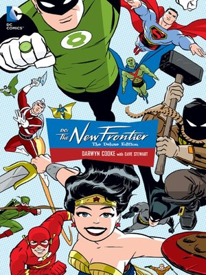 cover image of DC: The New Frontier